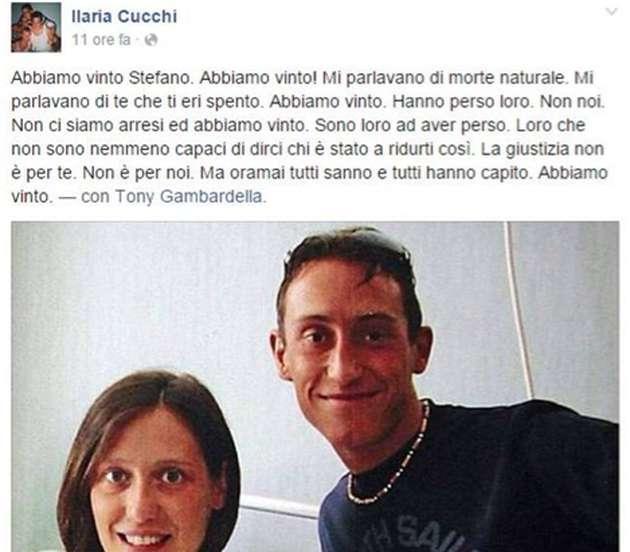 Stefano Cucchi: il caso sui social network