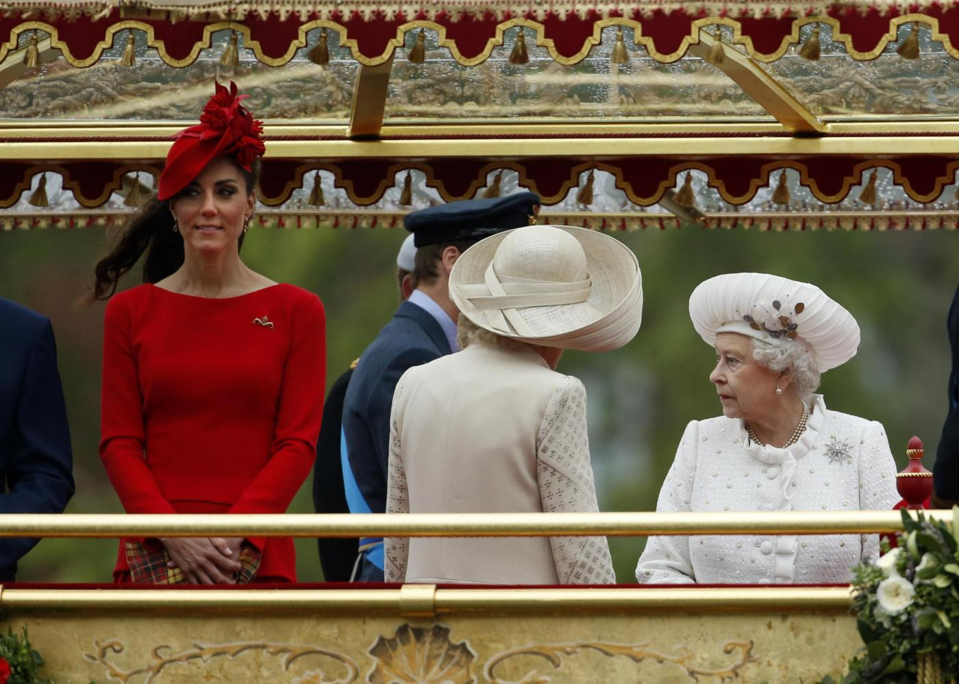 Kate Middleton e la regina Elisabetta in disaccordo per il pranzo di Natale