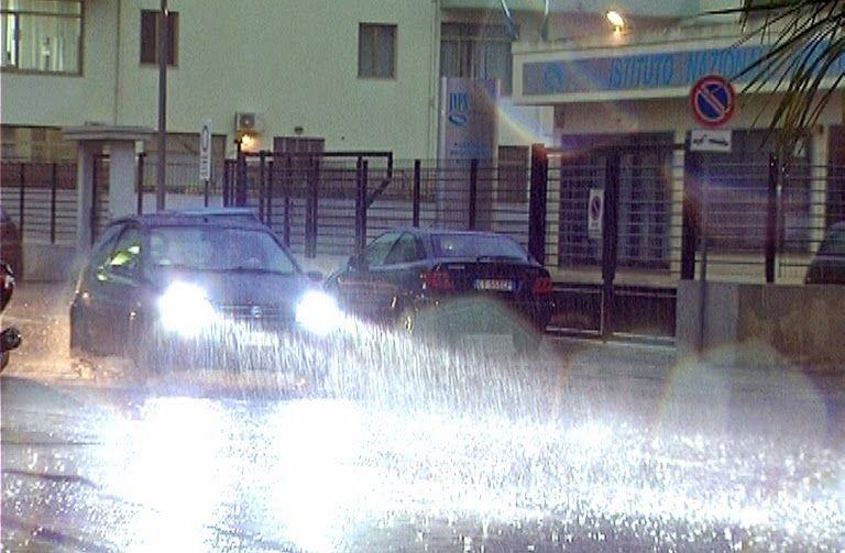 Maltempo in Sardegna: disagi nei trasporti a causa della pioggia