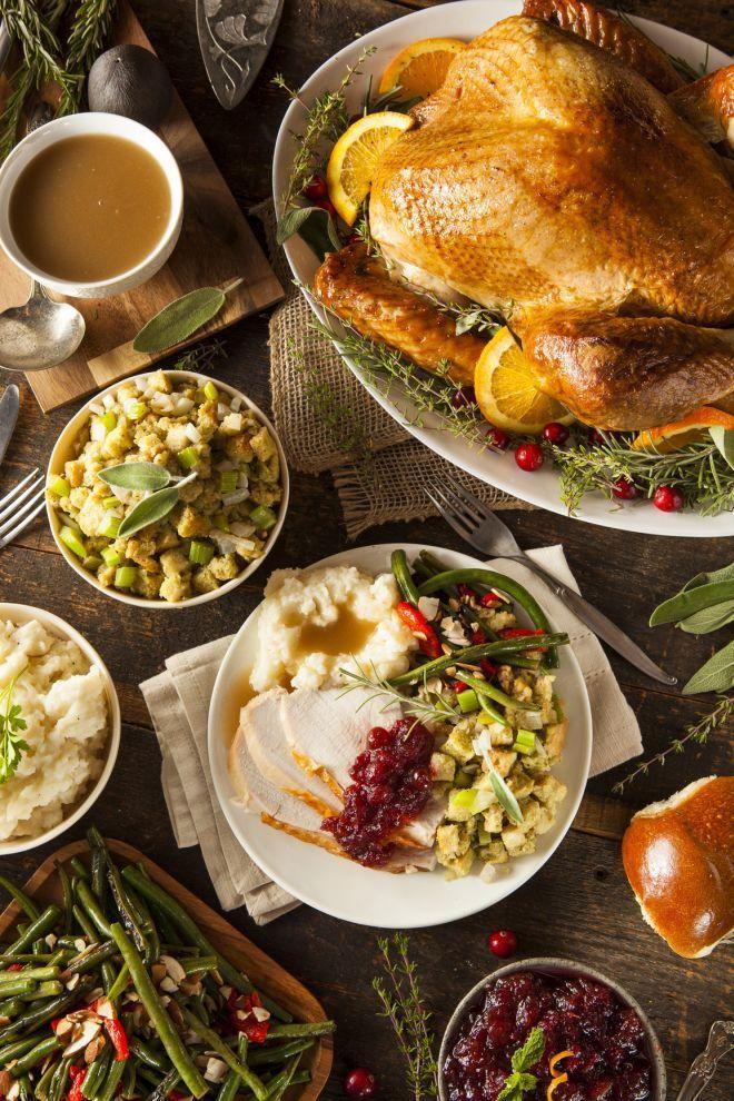 menu tradizionale thanksgiving giorno del ringraziamento