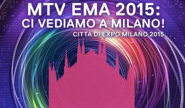 MTV EMA 2015 a Milano in collaborazione con Expo 2015