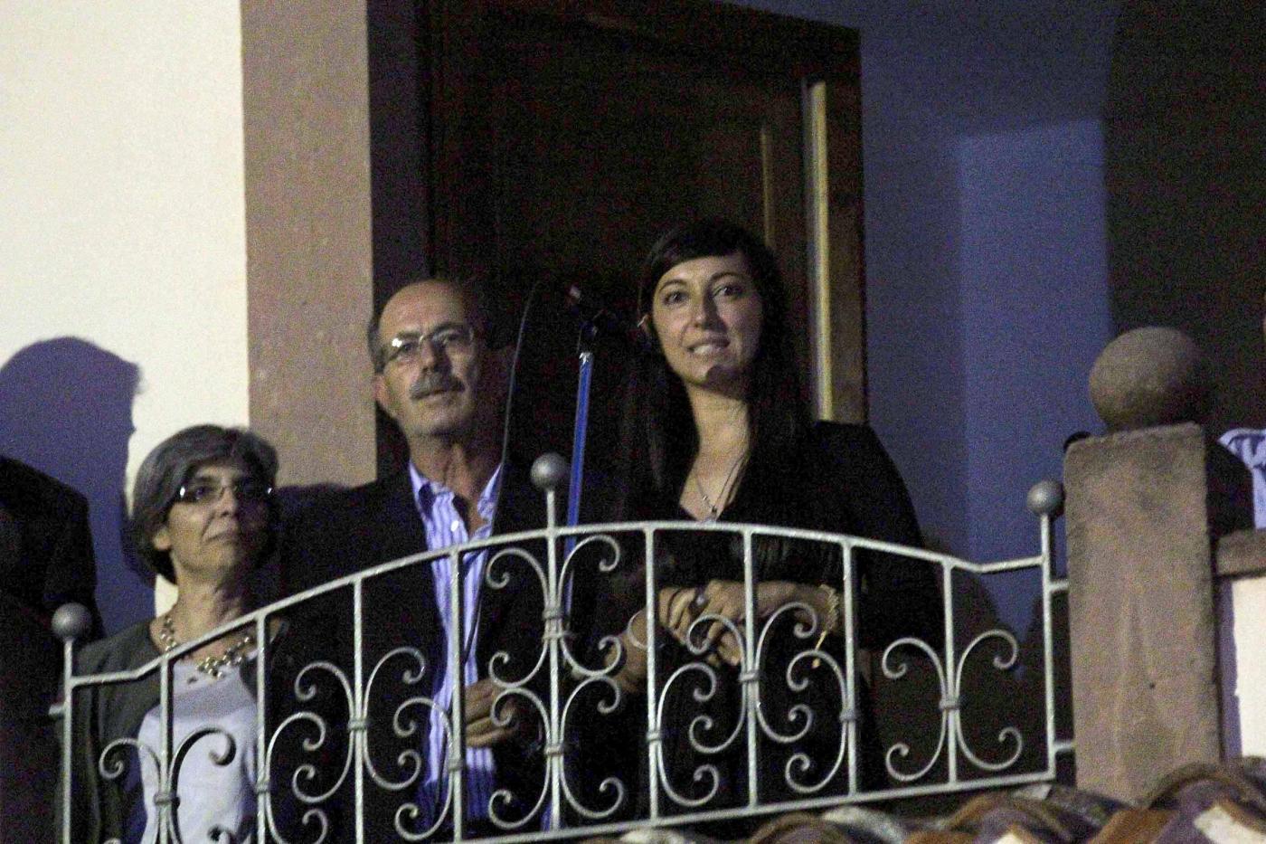Samugheo, Rossella Urru torna a casa