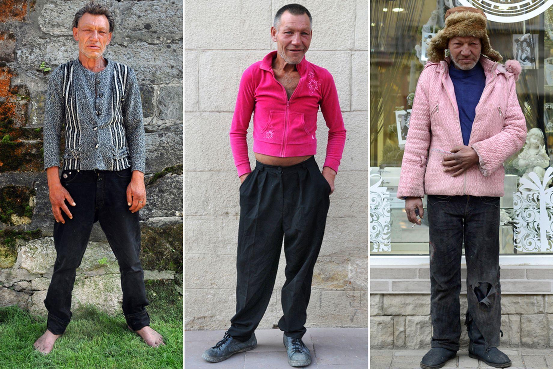 La moda di Slavik, l'homeless fashionista più famoso in Ucraina