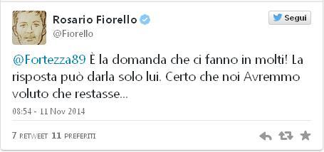 tweet fiorello