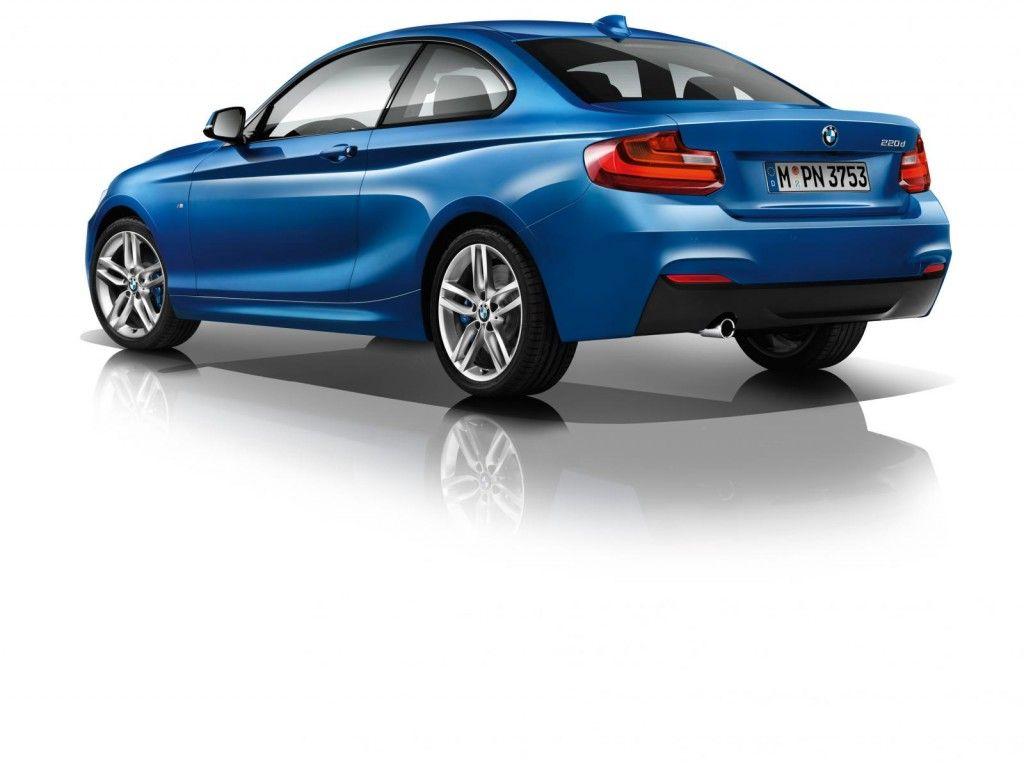 BMW Serie 2 Coupe blu 1024x766