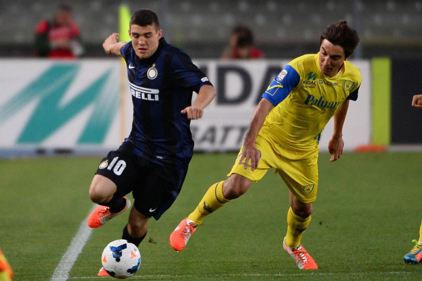 Chievo Verona vs Inter 0-2: Mancini riprende un po' di ossigeno