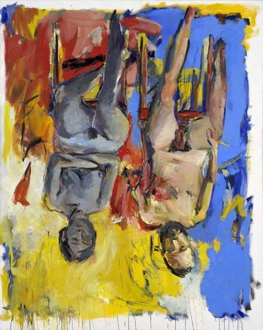 Dipinto di Georg Baselitz