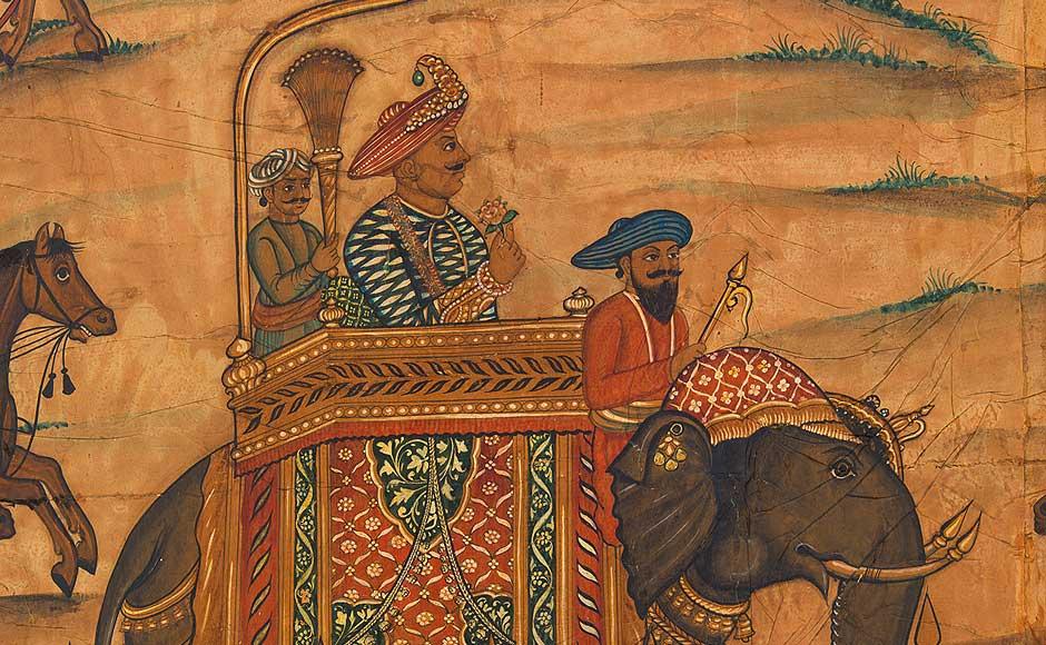 Dipinto di arte islamica