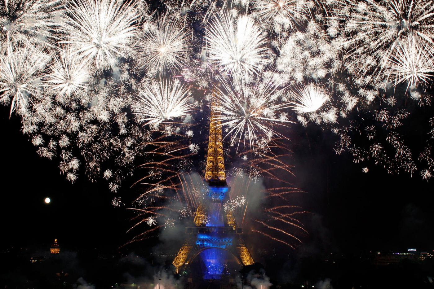 Francia fuochi artificio
