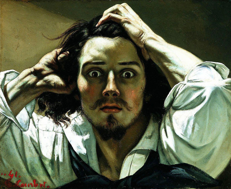 Gustave Courbet Autoritratto
