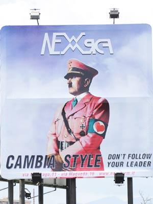 Hitler pubblicita