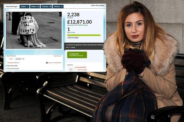 Inghilterra: senzatetto offre tre sterline a ragazza bisognosa, lei ne raccoglie 20mila per ringraziarlo