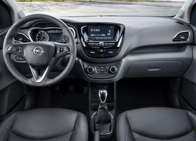 Interni Opel Karl
