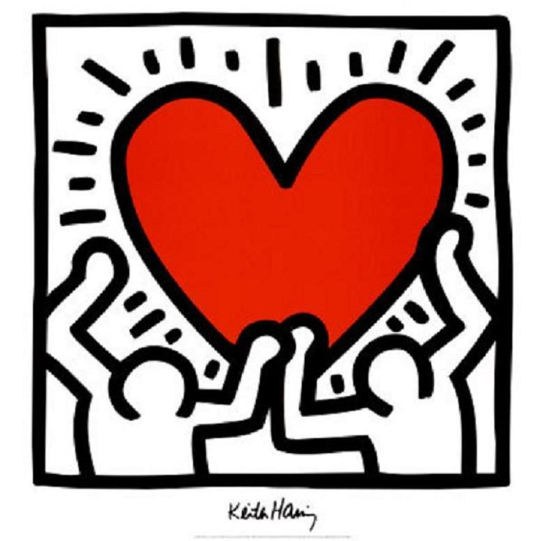 Keith Haring Heart
