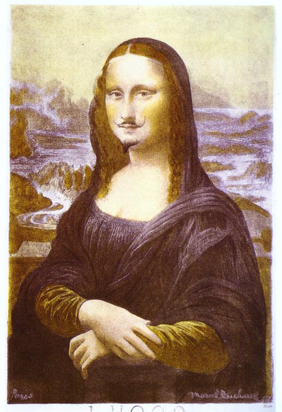 La Gioconda con i baffi di Duchamp 150x150