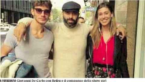 Belen e il boss: la Rodriguez in foto con De Carlo, arrestato per Roma Capitale