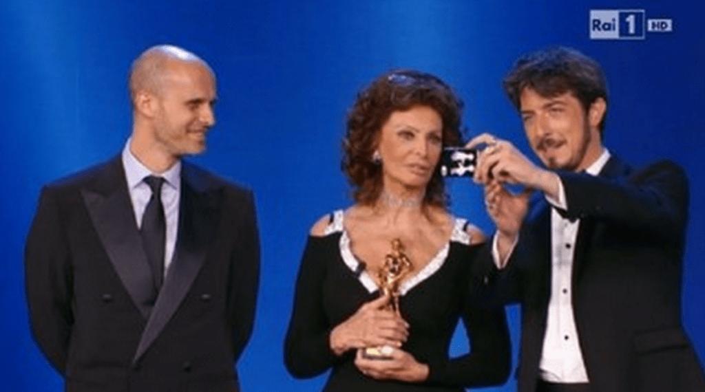 La gaffe di Paolo Ruffini con Sophia Loren 1024x570