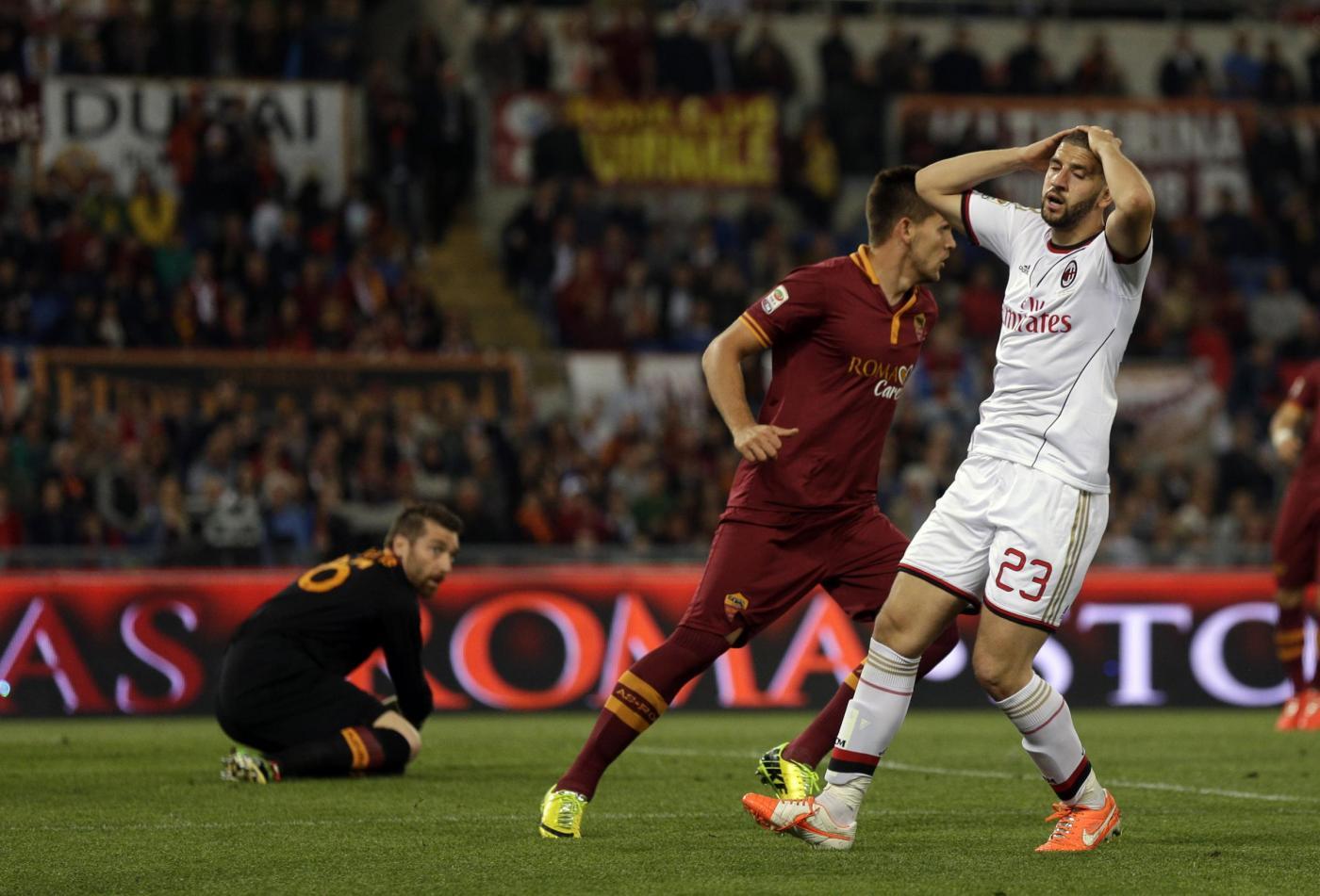 Roma vs Milan 0-0: giallorossi nuovamente a -3 dalla Juve
