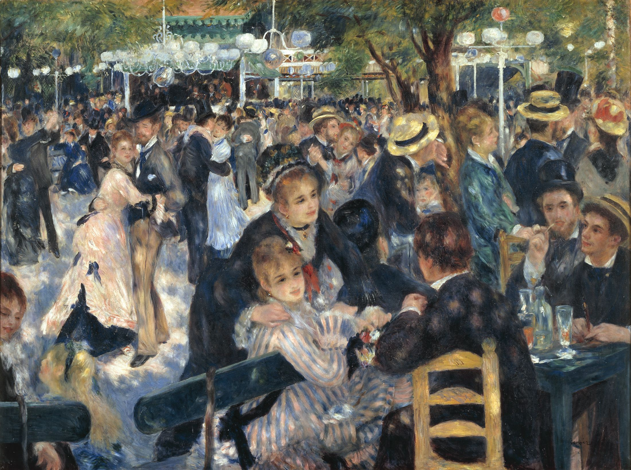 Pierre Auguste Renoir Le Moulin de la Galette