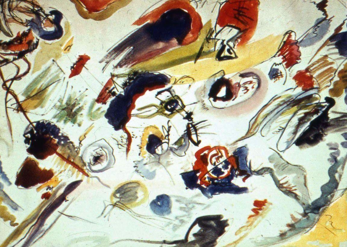 Primo acquerello astratto Kandinsky