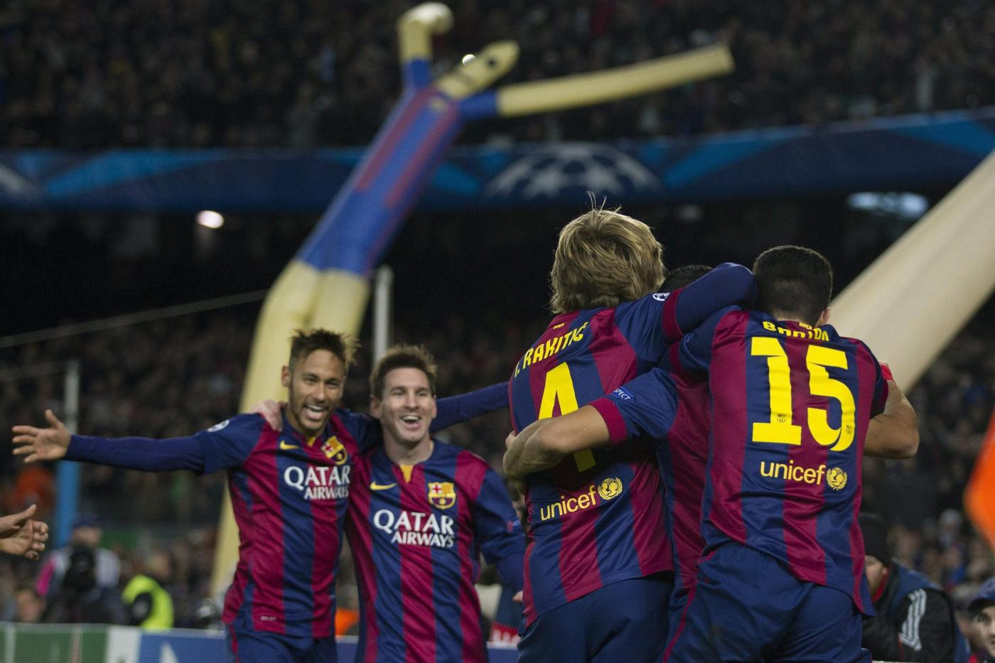 Champions League 2014/15: le qualificate agli ottavi di finale