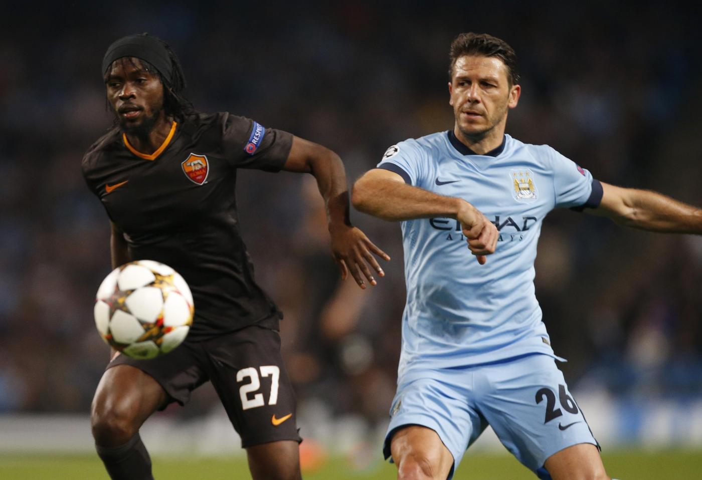 Champions, Roma vs Manchester City 0-2: giallorossi eliminati