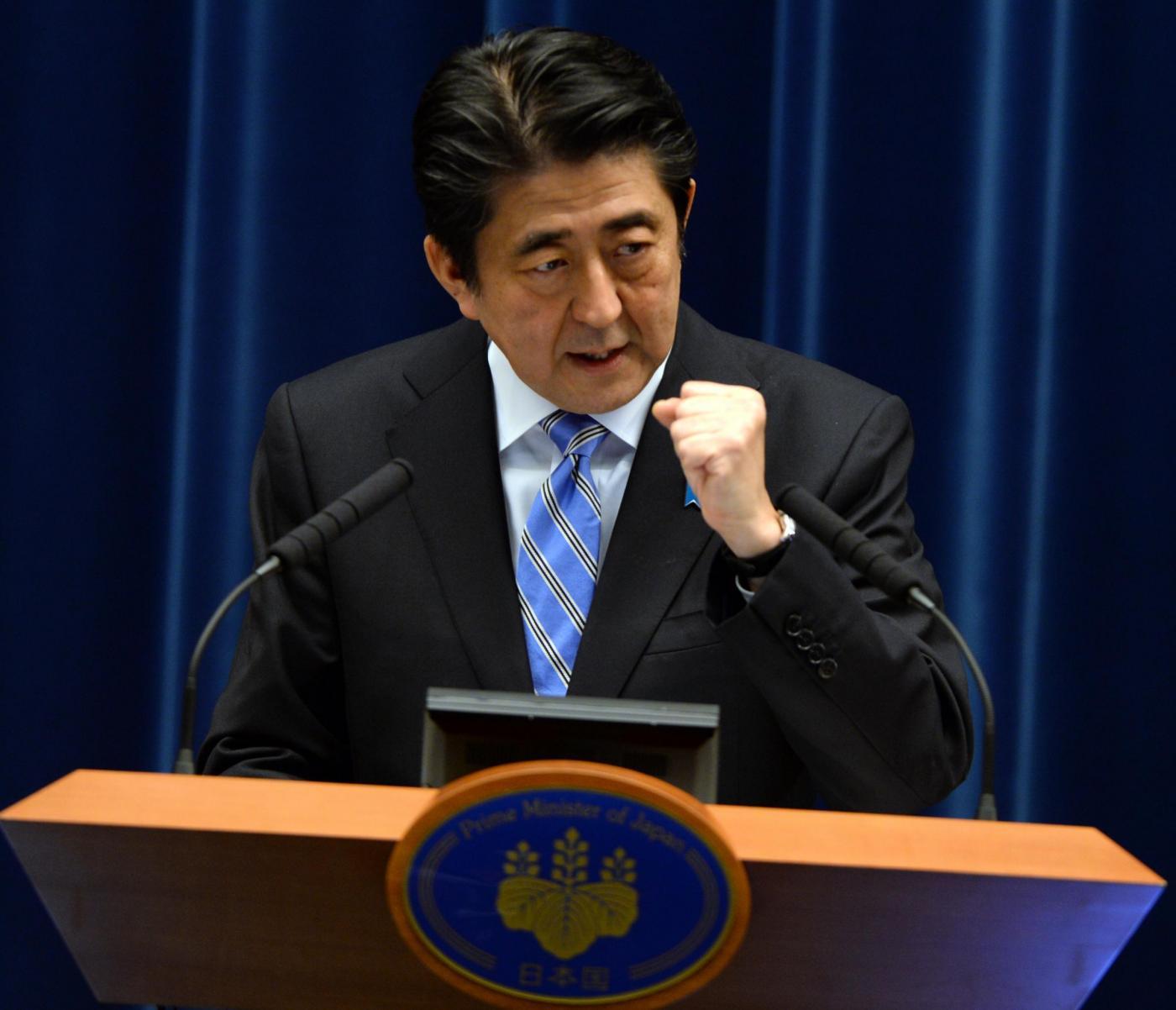 Elezioni in Giappone, vince Shinzo Abe