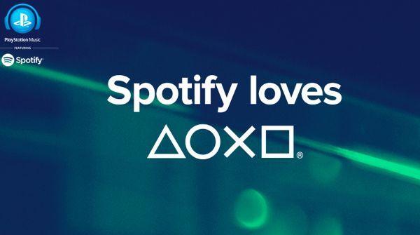 Spotify su Playstation: per ascoltare musica mentre si gioca