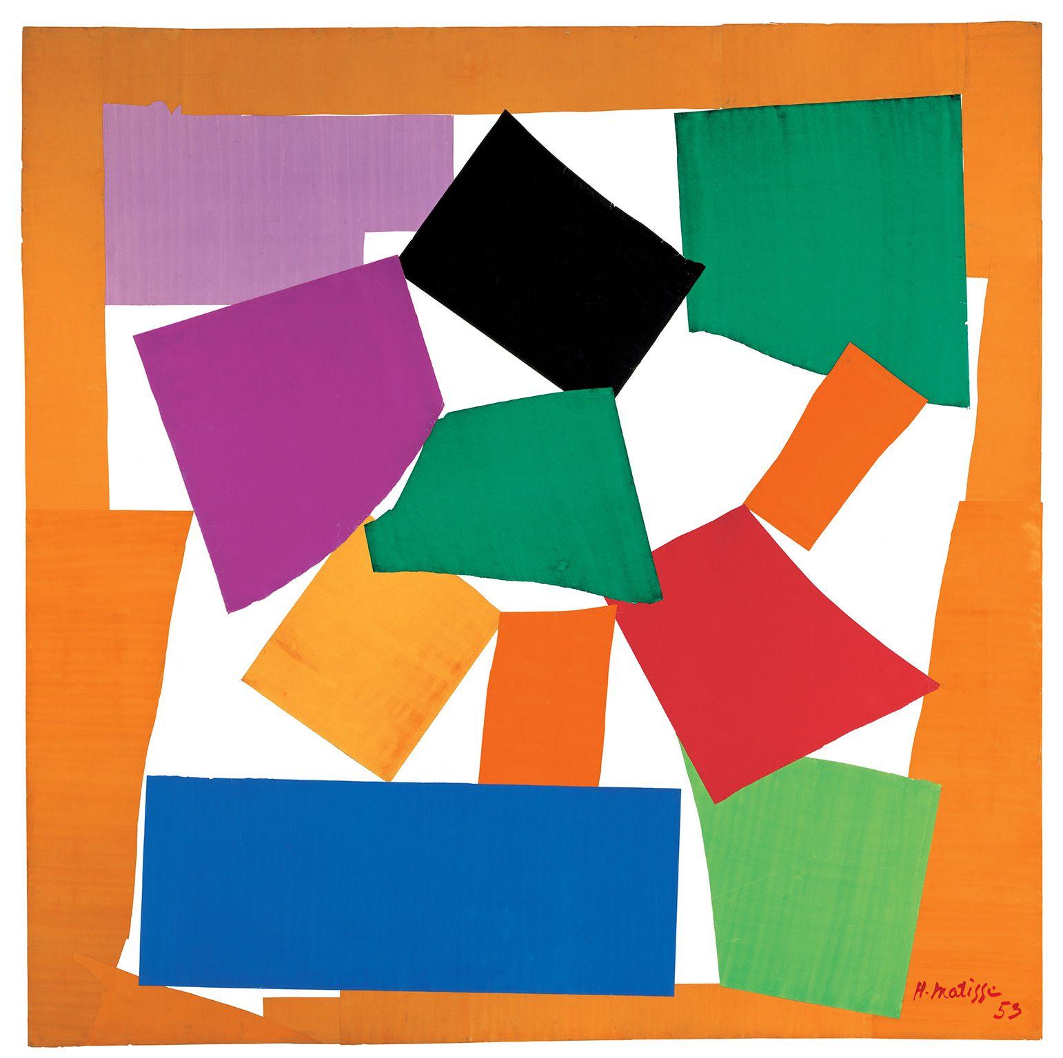 Un cut outs di Matisse1