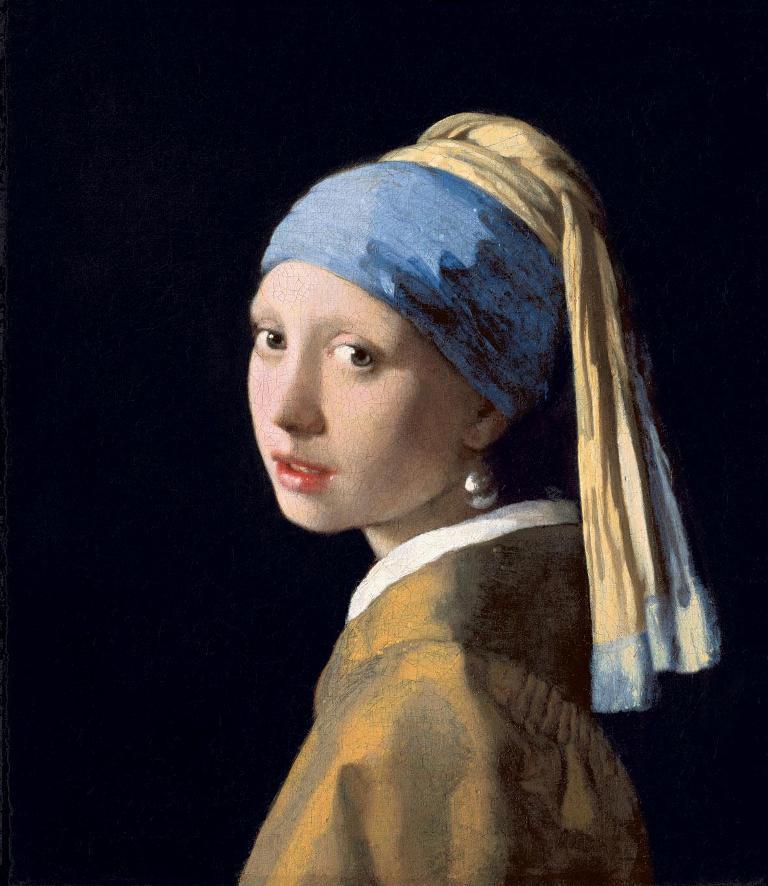 Vermeer Ragazza con orecchino di perla