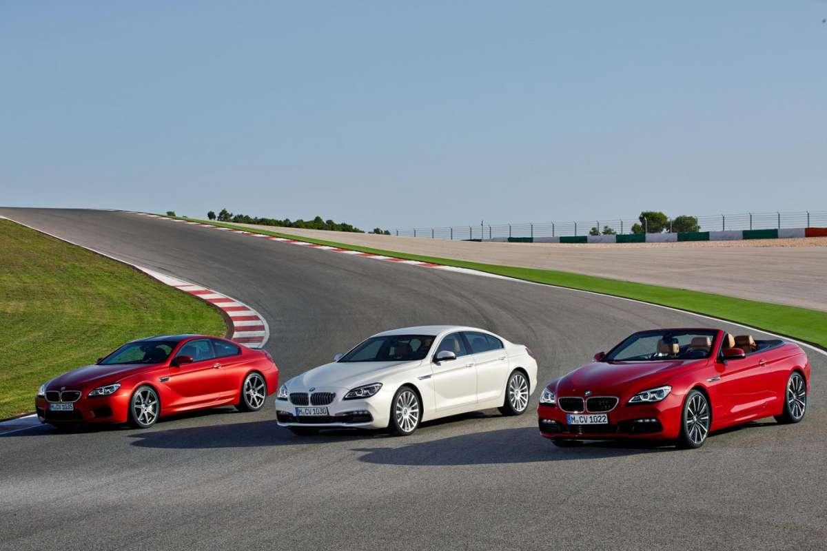 BMW Serie 6 restyling 2015: motori e scheda tecnica