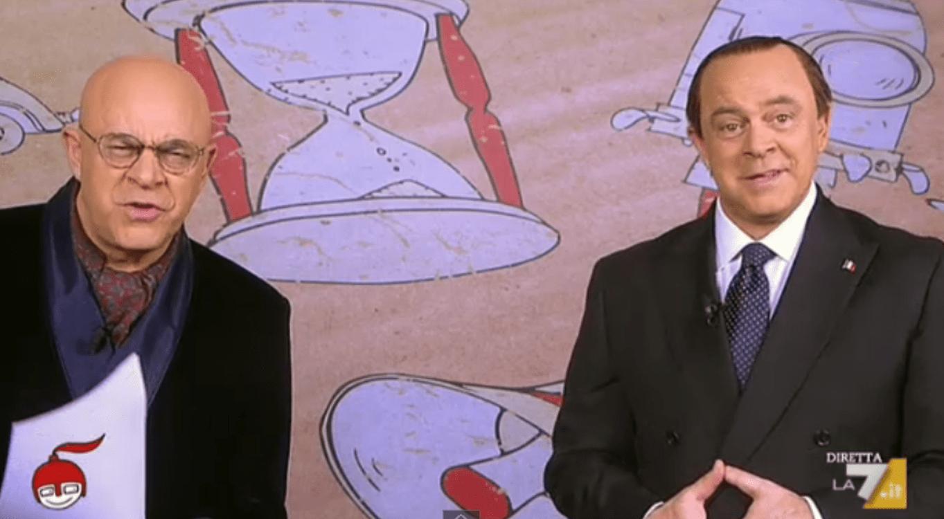 DiMartedì, Maurizio Crozza con carrellata d'imitazioni: la copertina del 23 dicembre