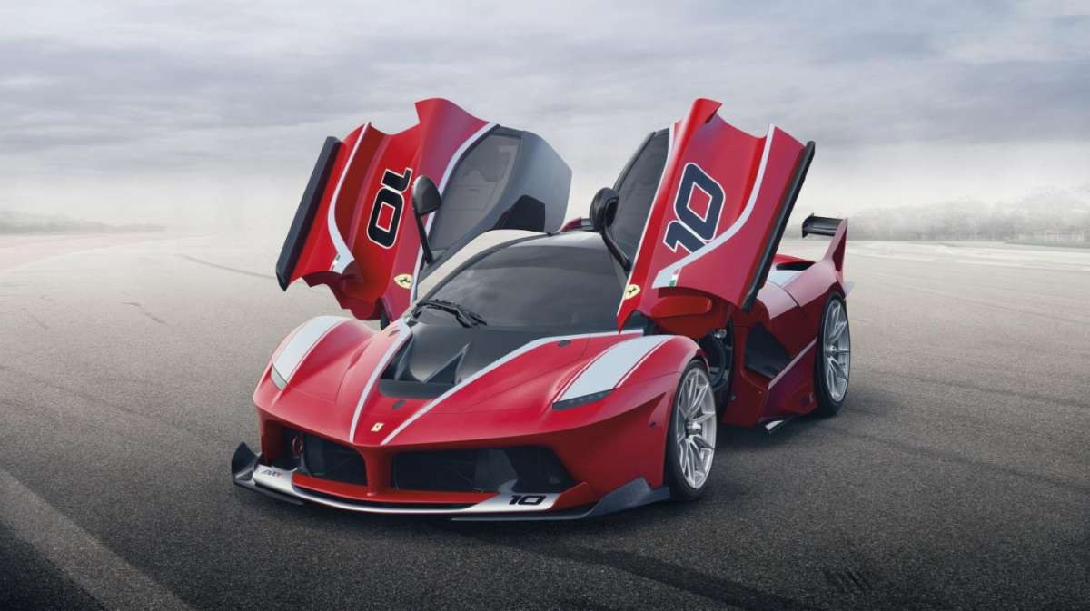 Ferrari FXX K: motore e caratteristiche