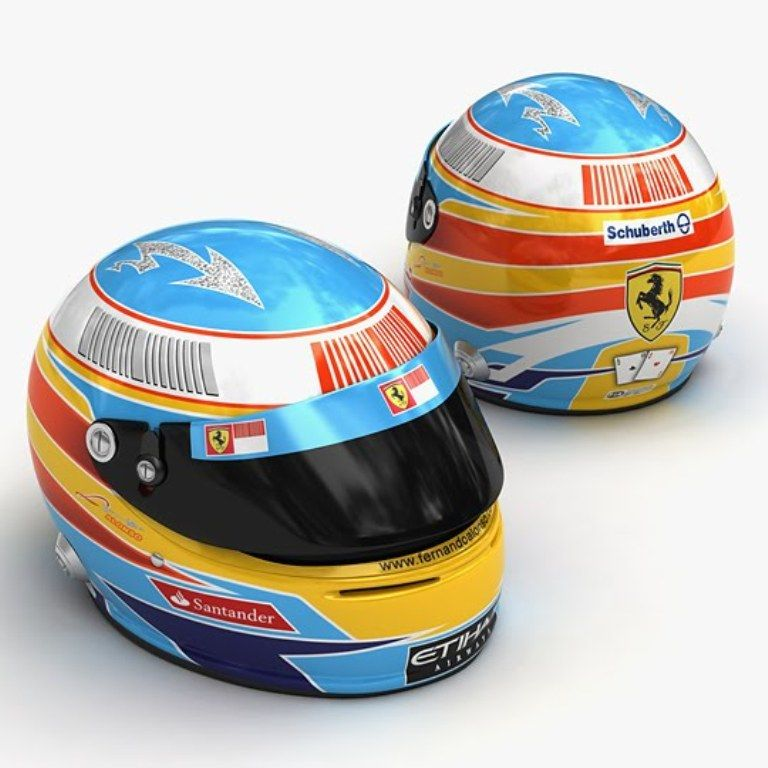 Formula 1: sai riconoscere i caschi dei piloti? Fai il QUIZ!