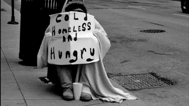 homeless Robbie da Preston
