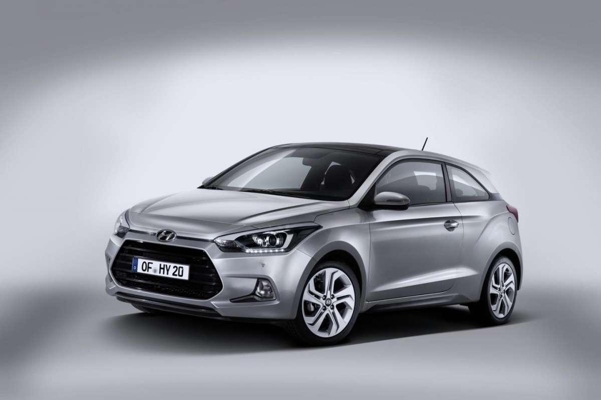 Hyundai i20 Coupé: motori e scheda tecnica