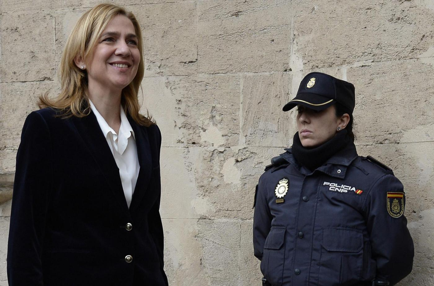 Infanta Cristina di Spagna rinviata a giudizio per frode fiscale
