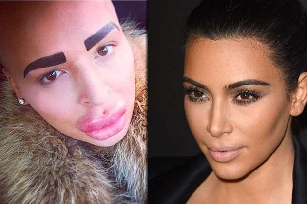 Ragazzo inglese spende 125.000 dollari per assomigliare a Kim Kardashian