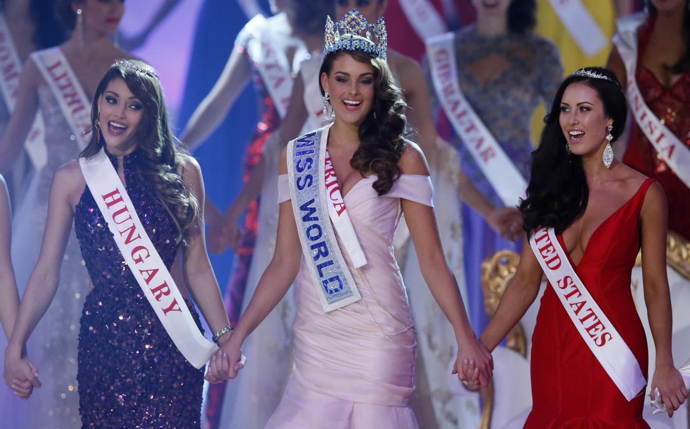 Rolene Strauss è Miss Mondo 2014: la sudafricana conquista il titolo