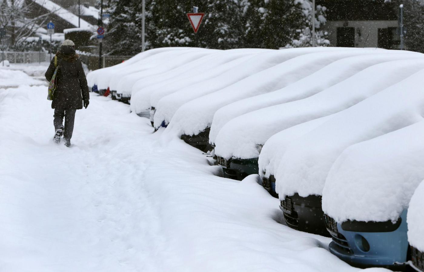 Maltempo in Italia, Capodanno al gelo: neve al Centro Sud