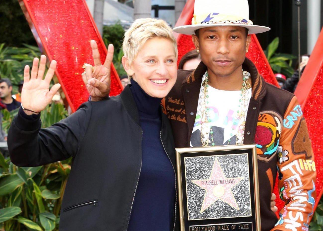 Pharrell Williams: una stella sulla Walk of Fame di Hollywood per l'artista di Happy