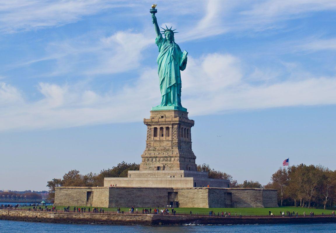 statua liberta liberty island