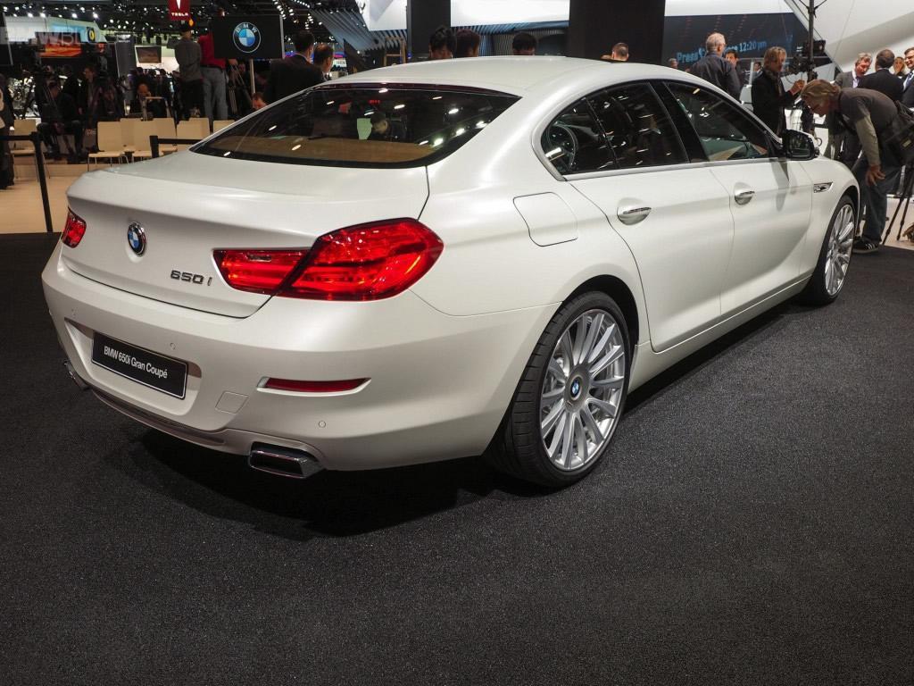 BMW 650i Gran Coupé tre quarti posteriore