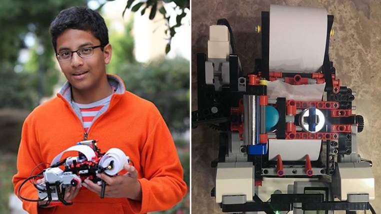 """Stampante Braille di LEGO: Intel """"compra"""" il 13enne inventore"""