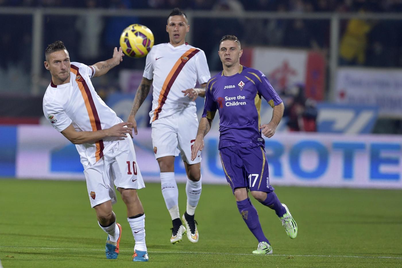 Fiorentina vs Roma Serie A 150x150