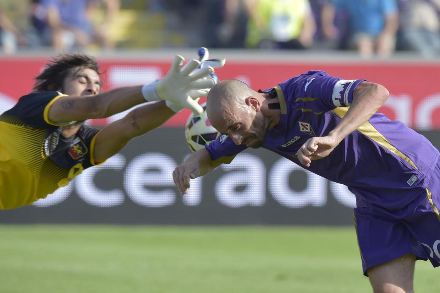Genoa vs Fiorentina 1-1 con clamoroso autogol di Tatarusanu