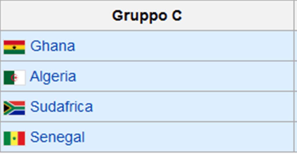 Gruppo C