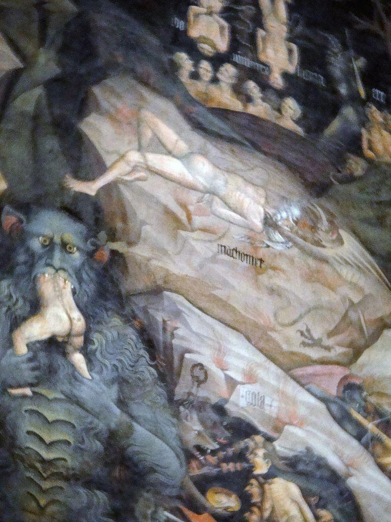 Il Maometto dipinto nella basilica di San Petronio Bologna. QUADRO DI GIOVANNI DA MODENA 150x150