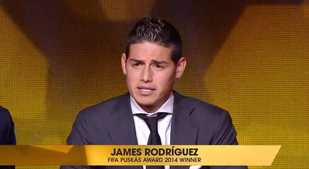 I 10 gol più belli del 2014, la classifica: vince James Rodriguez