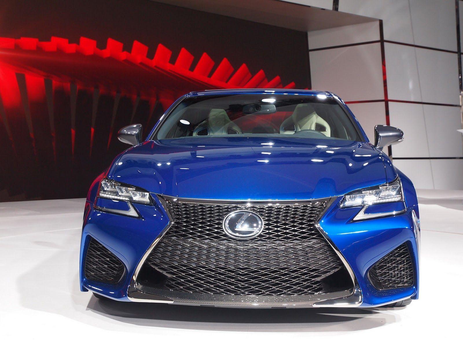 Lexus GS F 2016: motore e dati tecnici